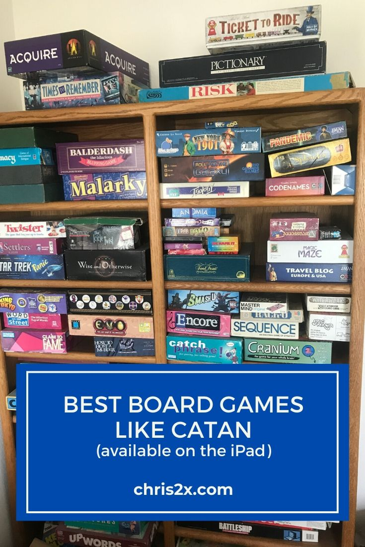 Best Board Games like Catan (Also Available on the iPad ) | iPad Strategy Games #ipad #game #eurogame #board-game #catan